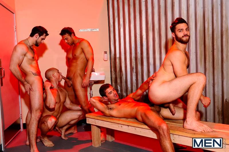 Undercover - Part 3 - John Magnum - Phenix Saint - Tommy Defendi - Rocco Reed - Donny Wright - Jizz Orgy - Photo #13