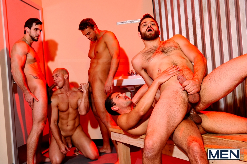 Undercover - Part 3 - John Magnum - Phenix Saint - Tommy Defendi - Rocco Reed - Donny Wright - Jizz Orgy - Photo #14