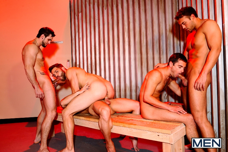 Undercover - Part 3 - John Magnum - Phenix Saint - Tommy Defendi - Rocco Reed - Donny Wright - Jizz Orgy - Photo #15