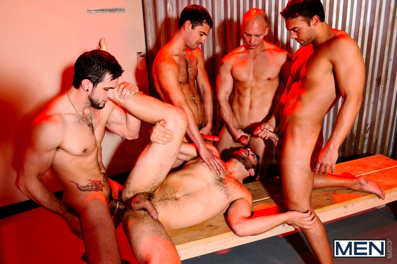 Undercover - Part 3 - John Magnum - Phenix Saint - Tommy Defendi - Rocco Reed - Donny Wright - Jizz Orgy - Photo #16