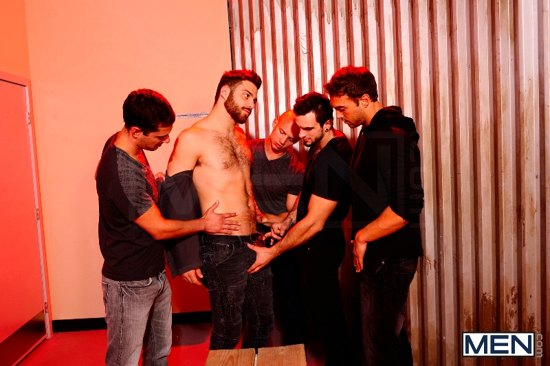 Undercover - Part 3 - John Magnum - Phenix Saint - Tommy Defendi - Rocco Reed - Donny Wright - Jizz Orgy - Photo #9