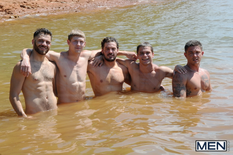 Skinny Dipping - Sebastian Young - Tommy Defendi - Jimmy Johnson - Andrew Blue - Brett Carter - Jizz Orgy - Photo #8