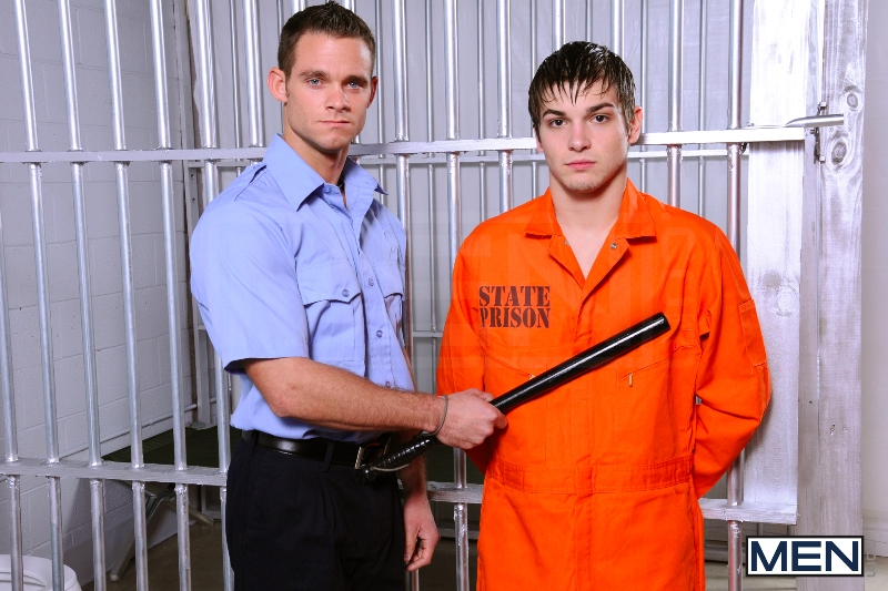 Prison Shower 4 - Johnny Rapid - Landon Conrad - Cooper Reed - Drill My Hole - Photo #3