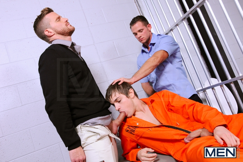 Prison Shower 4 - Johnny Rapid - Landon Conrad - Cooper Reed - Drill My Hole - Photo #7
