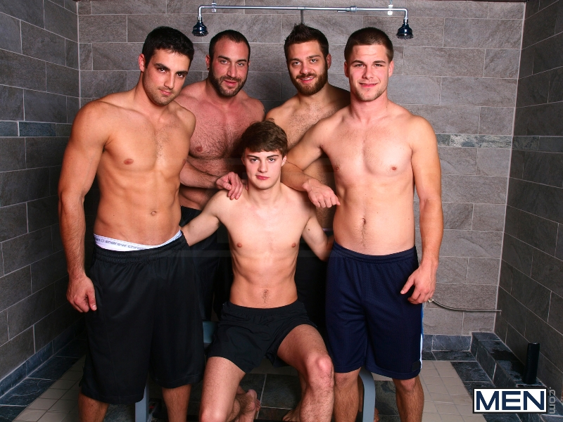 Jizz Shower - Spencer Reed - Tommy Defendi- Jimmy Johnson - Jack King - Hunter Page - Jizz Orgy - Photo #1
