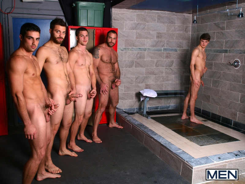 Jizz Shower - Spencer Reed - Tommy Defendi- Jimmy Johnson - Jack King - Hunter Page - Jizz Orgy - Men of Gay Porn - Photo #2