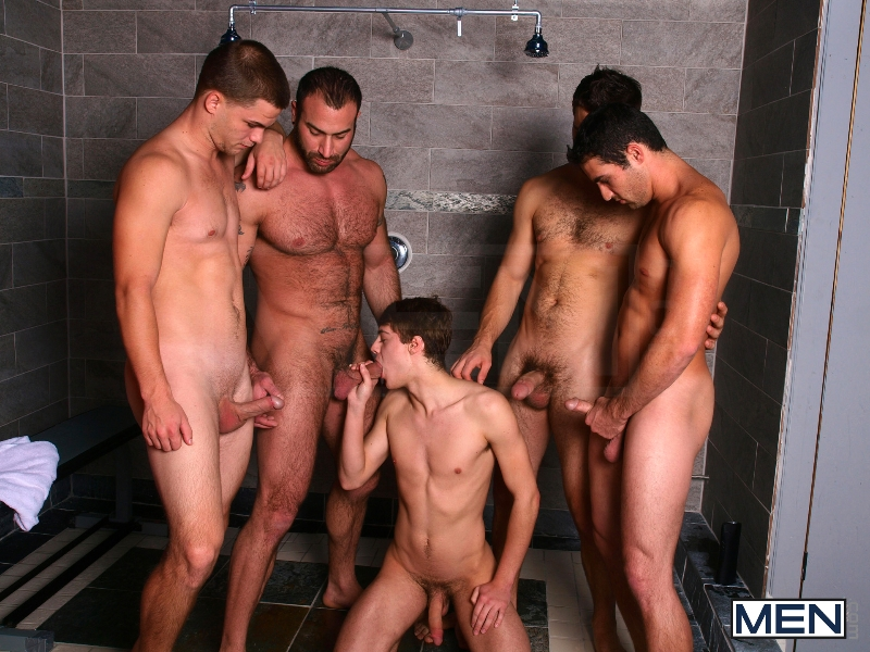 Jizz Shower - Spencer Reed - Tommy Defendi- Jimmy Johnson - Jack King - Hunter Page - Jizz Orgy - Men of Gay Porn - Photo #5