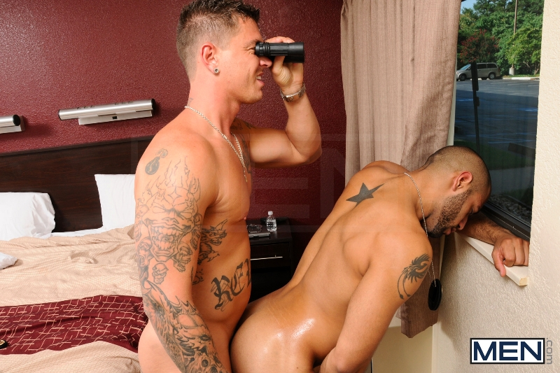 Stake Out 1 - Leo Forte - Sebastian Young - Str8 To Gay - Photo #11