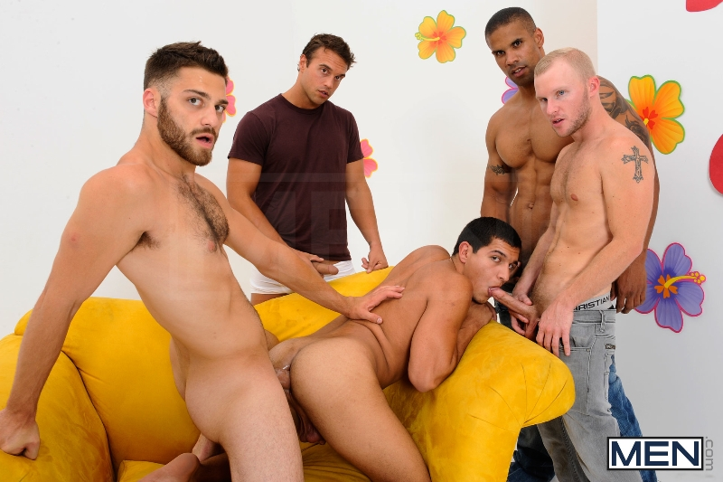 The Gay Dating Game - Robert Axel - Tommy Defendi - Tony Newport - Rocco Reed - Zane Michaels - Jizz Orgy - Photo #10