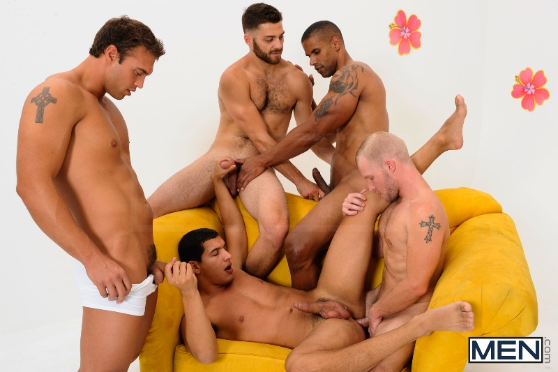 The Gay Dating Game - Robert Axel - Tommy Defendi - Tony Newport - Rocco Reed - Zane Michaels - Jizz Orgy - Photo #11