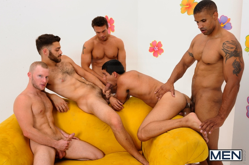 The Gay Dating Game - Robert Axel - Tommy Defendi - Tony Newport - Rocco Reed - Zane Michaels - Jizz Orgy - Photo #12