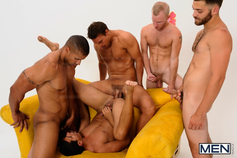 The Gay Dating Game - Robert Axel - Tommy Defendi - Tony Newport - Rocco Reed - Zane Michaels - Jizz Orgy - Photo #13