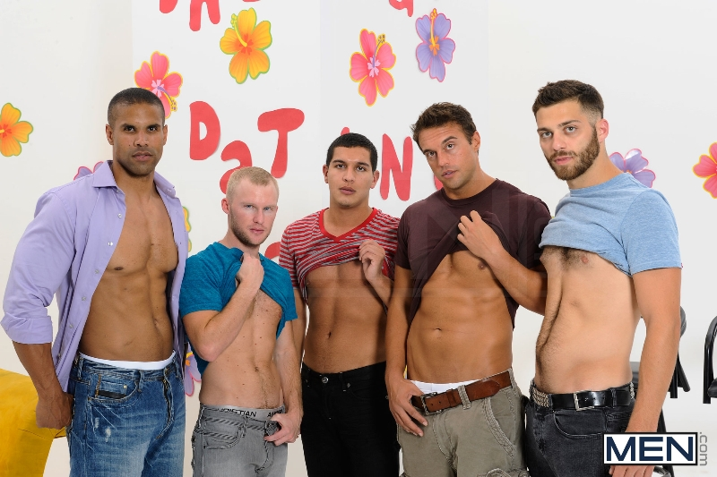 The Gay Dating Game - Robert Axel - Tommy Defendi - Tony Newport - Rocco Reed - Zane Michaels - Jizz Orgy - Photo #5