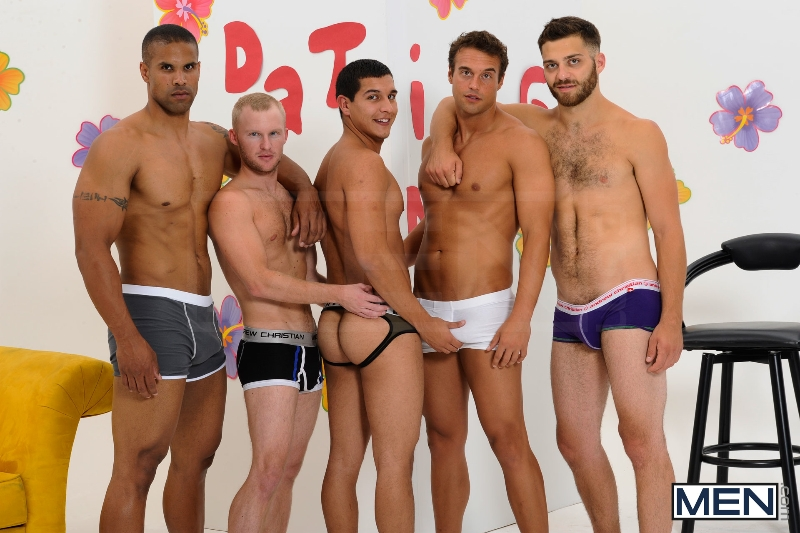 The Gay Dating Game - Robert Axel - Tommy Defendi - Tony Newport - Rocco Reed - Zane Michaels - Jizz Orgy - Photo #6