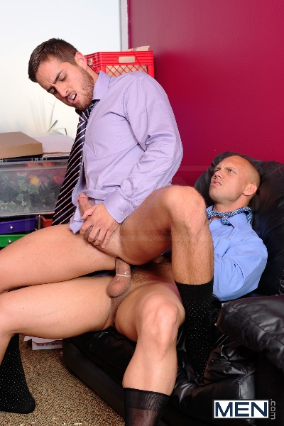 Law And Hoarder - John Magnum - Bryce Star - The Gay Office - Photo #12