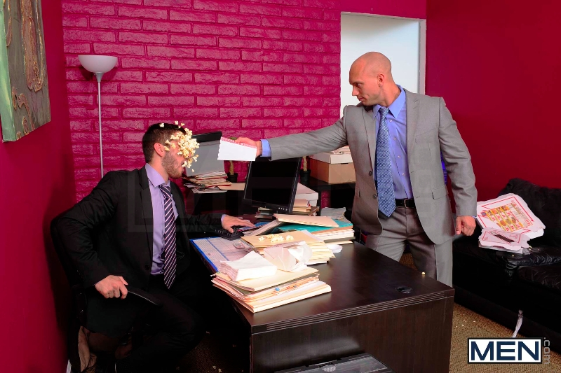 Law And Hoarder - John Magnum - Bryce Star - The Gay Office - Photo #4