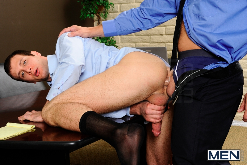 Stiff As A Board - Spencer Fox - Colby Jansen - The Gay Office - Photo #10