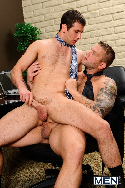 Stiff As A Board - Spencer Fox - Colby Jansen - The Gay Office - Photo #11