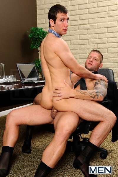 Stiff As A Board - Spencer Fox - Colby Jansen - The Gay Office - Photo #13