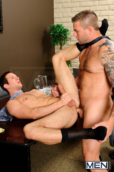 Stiff As A Board - Spencer Fox - Colby Jansen - The Gay Office - Photo #14