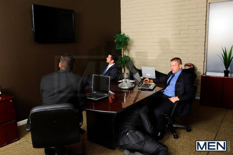 Stiff As A Board - Spencer Fox - Colby Jansen - The Gay Office - Photo #2