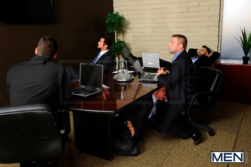 Stiff As A Board - Spencer Fox - Colby Jansen - The Gay Office - Photo #3