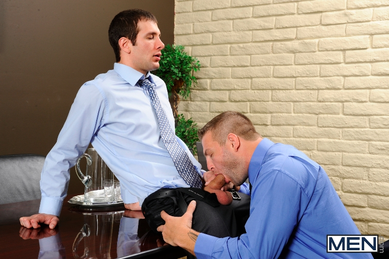 Stiff As A Board - Spencer Fox - Colby Jansen - The Gay Office - Photo #6