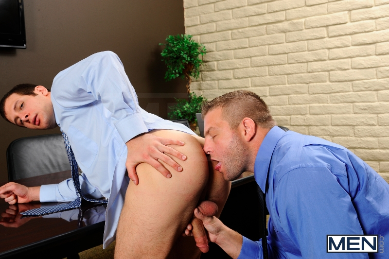 Stiff As A Board - Spencer Fox - Colby Jansen - The Gay Office - Photo #8