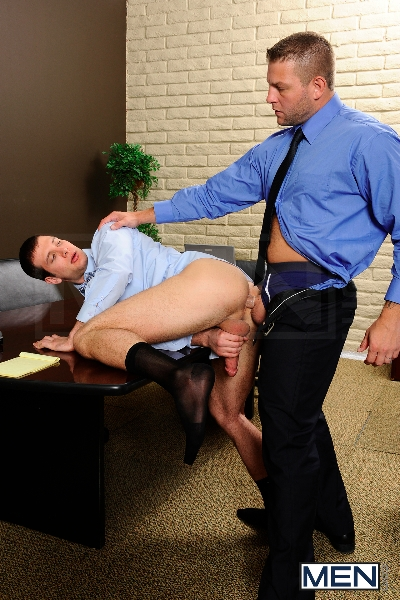 Stiff As A Board - Spencer Fox - Colby Jansen - The Gay Office - Photo #9