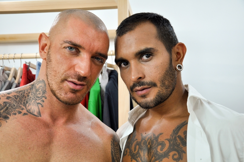 Cut - Lucio Saints - Francesco D'Macho - The Gay Office - Photo #2