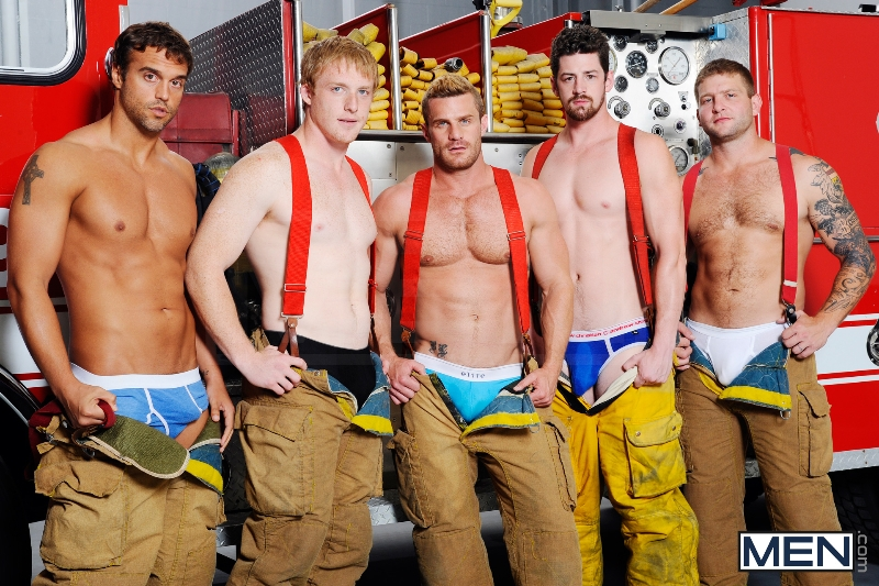 Hot Like Fire - Colby Jansen - Rocco Reed - Landon Conrad - Andrew Stark - Charlie Roberts - Jizz Orgy - Photo #10