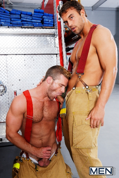 Hot Like Fire - Colby Jansen - Rocco Reed - Landon Conrad - Andrew Stark - Charlie Roberts - Jizz Orgy - Photo #15