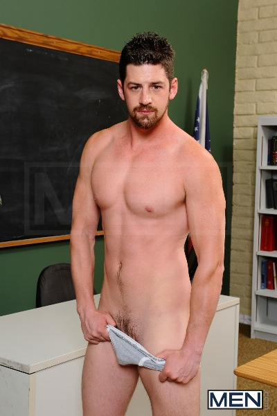 Janitor's Job - Brandon Wilde - Andrew Stark - Big Dicks At School - Photo #1