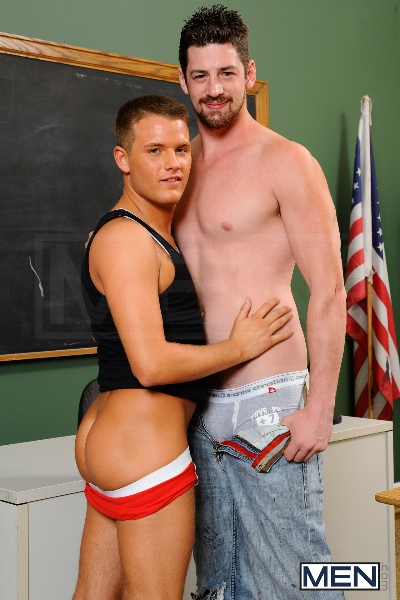Janitor's Job - Brandon Wilde - Andrew Stark - Big Dicks At School - Photo #3