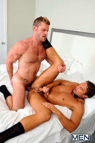 My Bride's Hot Brother - Rocco Reed - Landon Conrad - Str8 To Gay - Men of Gay Porn - Photo #16