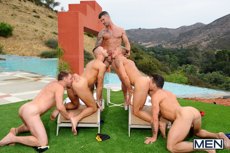 Pool Party - Philip Aubrey - Adam Killian - Jessie Colter - Trenton Ducati - Hans Berlin - Jizz Orgy - Photo #10