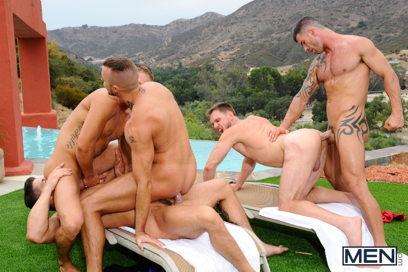 Pool Party - Philip Aubrey - Adam Killian - Jessie Colter - Trenton Ducati - Hans Berlin - Jizz Orgy - Photo #16