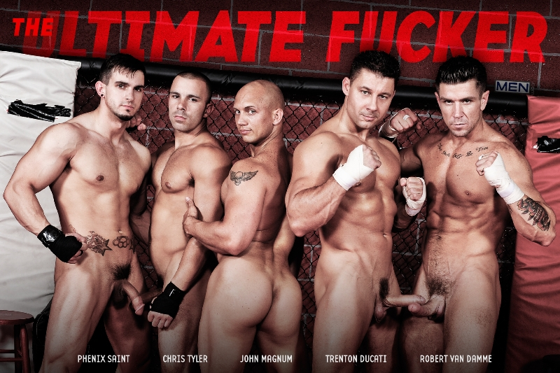The Ultimate Fucker - John Magnum - Phenix Saint - Chris Tyler - Robert Van Damme - Trenton Ducati - Jizz Orgy - Photo #1