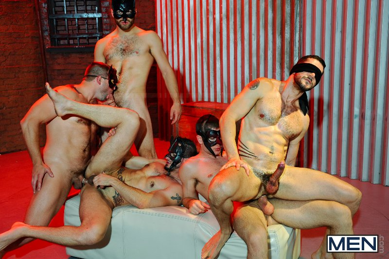 Masked Men 2 - Dean Monroe - Phenix Saint - Spencer Fox - Tommy Defendi - Colby Jansen - Jizz Orgy - Men of Gay Porn - Photo #13