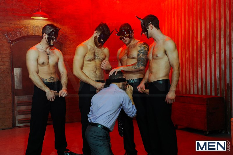 Masked Men 2 - Dean Monroe - Phenix Saint - Spencer Fox - Tommy Defendi - Colby Jansen - Jizz Orgy - Men of Gay Porn - Photo #5