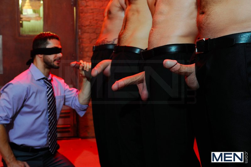 Masked Men 2 - Dean Monroe - Phenix Saint - Spencer Fox - Tommy Defendi - Colby Jansen - Jizz Orgy - Men of Gay Porn - Photo #7