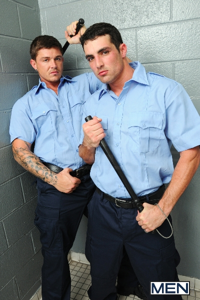 Prison Shower 2 - Johnny Rapid - Sebastian Young - Jack King - Drill My Hole - Men - Photo #3